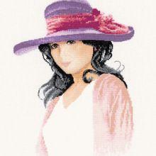 Gallery.ru / Все альбомы пользователя 777m Cross Stitch Fabric, Cross Stitch Charts, Head & Shoulders, Back Stitch, Etsy Shipping, Elegant Woman, Colours, Black And White, Punto De Cruz