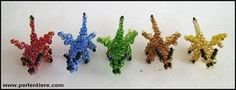 How to make a 3D-beaded-Dragon by ~Miryl on deviantART