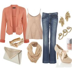 Dusty Rose, created by lissy-rose-erickson.polyvore.com