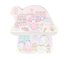 My Melody Deluxe Sticky Notes: House