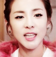 Beautiful Korean Artists: Dara - Sweet Smiling GIFs