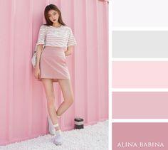 Color scheme  Alina Babina color palettes