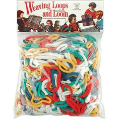 Wool Novelty Weaving Loops & Loom