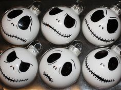Jack Skellington Halloween Tree Bulbs Nightmare Before Christmas Halloween Trees, Holidays Halloween, Halloween Crafts, Halloween Decorations, Christmas Decorations, Halloween Halloween, Diy Halloween Ornaments, Halloween Wishes, Skeleton Decorations