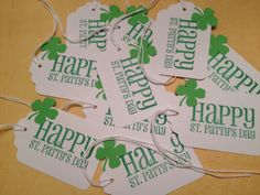 St. Patrick's Day Candy Bag Tags by StuffDepot, $3.20
