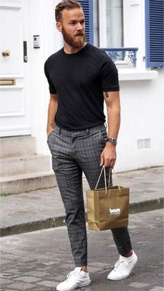 25 Dapper outfits from this influencer! Mens Fashion Blog, Mens Fashion Suits, New Fashion, Fashion Vintage, Vintage Style, Fashion Edgy, Fashion Trends, Mode Outfits, Casual Outfits