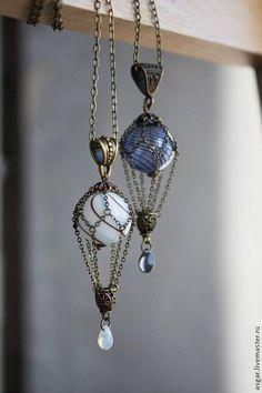 nice Lampwork necklace / Кулоны, подвески ручной работы. З...