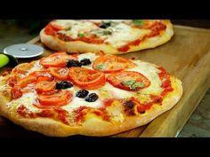 Recette De Pizza Très Facile (Tomate / Mozzarella) ₪ Pankaj Sharma - YouTube