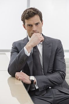Full Christian Grey Promotonal Picture--my celebrity crush.  One of them, actually.