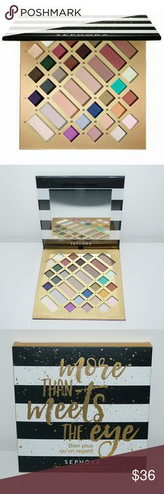 Sephora More Than Meets the Eye Eyeshadow Palette Brand new in box. 100% authentic guaranteed! Sephora Makeup Eyeshadow