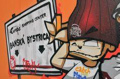 Graffiti Art for bboy Cetowy Graffiti Art for bboy Cetowy in Outbreak Europe, Slovakia. The story at fundacjatwojapasja.pl/bboycetowy-eng/