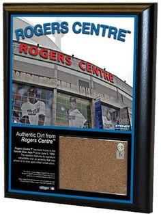 Rogers Centre 8x10 Dirt Plaque