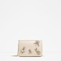Discover the new ZARA collection online. The latest trends for Woman, Man, Kids and next season's ad campaigns. Miu Miu, Diy Step By Step, Latest Bags, Zara Bags, Zara United States, Bago, Mini Bag, Shoulder Strap, Stud Earrings
