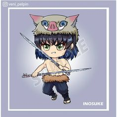 "PELPIN on Instagram: ""Chibi Kimetsu no Yaiba Inosuke, Obanai, and Muichirou . . #muichiroutokitou #inosukehashibira #iguroobanai #kimetsunoyaiba #demonslayer…"" Chibi, Fanart, Anime, Instagram, Fan Art, Cartoon Movies, Anime Music, Anime Shows"