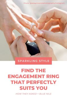 Vintage, round, halo or unique? No matter which engagement ring styles you're drawn to, Blue Nile can help you find a beautiful diamond ring you love. 💍 #ad Dream Engagement Rings, Engagement Ring Styles, Rose Gold Engagement Ring, Vintage Engagement Rings, Dimond Ring, Beautiful Diamond Rings, Blue Nile, Fashion Rings, Wedding Rings