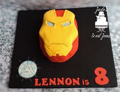 Iron man cake Marvel cake
