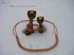Gunadesign Handmade Jewelry and Fashion Barn: Necklace and bracelet Remember