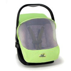 Got one of these for Baby's car seat. 1. for her being a summer baby to keep the bugs away. 2. but mostly to keep others from touching.