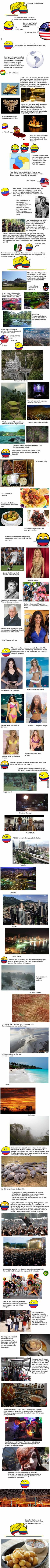 This Guy From Colombia Created A Funny Guide Of The Country And You Have To Read It!