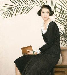 womeninarthistory:  Portrait of Virginia Shaw,Bernard Boutet de Monvel