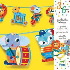 Kidsdinge Djeco rijgdieren slinger from www.kidsdinge.com #Kidsdinge #Speelgoed #Kinderkamer #Kids #Onlineshop #Toys #Kidsroom Kidsdinge | Cadeautjes voor kids en jezelf