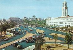 View of Taft Avenue, City Hall, and Post Office - Manila, Philippines. Philippines Culture, Manila Philippines, Philippine Holidays, Uk Visa, Filipino Culture, Mindanao, Thing 1, Historical Architecture, Post Office