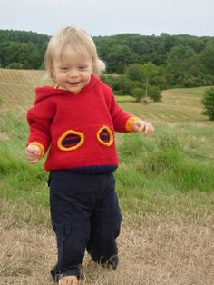 Free Knitting Pattern - Toddler & Children's Clothes: Oh-Oh Hoodie