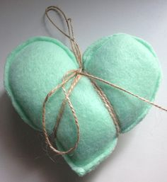 Heart shaped pocket hand warmers by Christina3marie on Etsy, $6.00