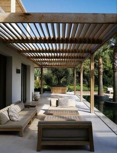 How much does a bioclimatic pergola cost?, How much does a bioclimatic pergola cost? trends Though early throughout notion, the actual pergola is encountering a bit of a modern day rebirth these. Pergola Patio, Pergola Cost, Wooden Pergola, Pergola Shade, Backyard Landscaping, Gazebo, Cheap Pergola, Patio Roof, Backyard Ideas