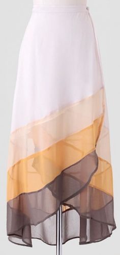 sunny days colorblock skirt http://rstyle.me/n/gauzir9te