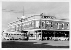 Royal Hotel, Horsham, September Photographer: John T. The Hotel was built in 1872 and the original verandahs were removed in The bus is a Pioneer Tours Flexible Clipper. State Library of Victoria Image Horsham, My Land, Melbourne, September, Hotels, Street View, Victoria, Tours, Australia