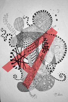 zentangle patters | Zentangle patterns on Behance