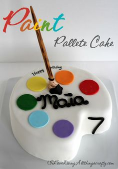 (I) (L)ove (D)oing (A)ll Things Crafty!: Paint Palette Cake (HoH159)