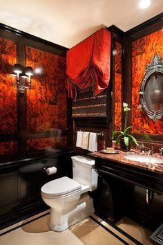 Goth bathroom. Who knew?
