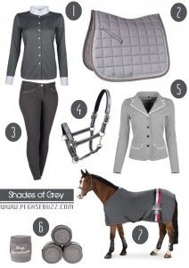 www.pegasebuzz.com | Equestrian Fashion : Shades of Grey