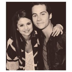 ɑlexis's flɑwless wife, selenɑ mɑrie gomez. ❤ liked on Polyvore featuring selena gomez, dylan o'brien and selena