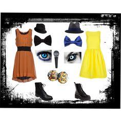 fnaf: Freddy and Golden Freddy Fnaf Costume, Fnaf Cosplay, Casual Cosplay, Cosplay Outfits, Cosplay Costumes, Fnaf Freddy, Freddy Fazbear, Punk Outfits, Fashion Outfits