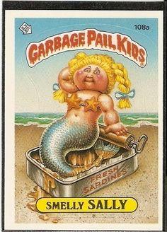 Garbage Pail Kids aka: Fishy Phyllis