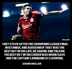 Captain fantastic just a pure Liverpool legend Liverpool Captain, Gerrard Liverpool, Liverpool Legends, Fc Liverpool, Liverpool Football Club, Liverpool Players, Stevie G, Liverpool Fc Wallpaper, Sports