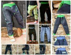 Pantalón corte cruzado y botones. Talla 110 - 115 cm. (4 - 5 años). Patrón y tutorial.