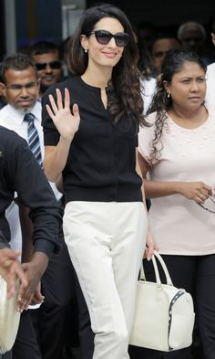 Amal Clooney's Most Stylish Looks Ever - September 7, 2015 - from InStyle.com