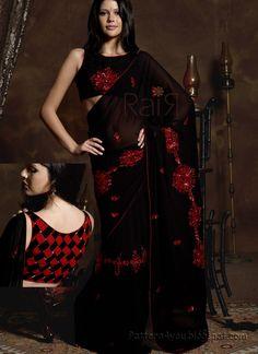 Black+Saree+11.png (800×1100)