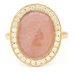 Anne Sportun Ring: something sweet andsomething sparkling
