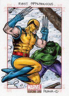 Wolverine vs Hulk - Marvel Bronze Age by tonyperna@deviantART