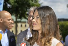 Princess Sofia attends the Industry Day meeting