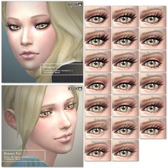3D eyelashes v2 by kijiko*lashes*