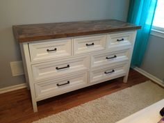 Kendal Dresser - upgraded Do It Yourself Home Projects from Ana White Wicker Furniture, Furniture Projects, Furniture Makeover, Home Projects, Home Furniture, Wicker Dresser, Wicker Couch, Antique Furniture, White Wood Dresser