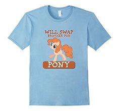 Men's WILL SWAP BROTHER FOR PONY TSHIRT FOR GIRLS 3XL Bab... https://www.amazon.com/dp/B01MTCC0VA/ref=cm_sw_r_pi_dp_x_Ls5Qyb5E0KEC1