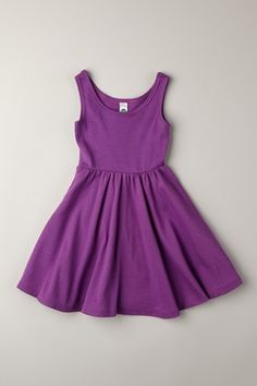 American Apparel Kids  Organic Ribbed Skater Dress  Most comfy summer dress I love ap for kids especially