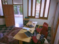 Startup office...